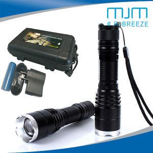 Высокое качество 10W сильного света из алюминиевого сплава светодиодный фонарик &аккумулятор горелки