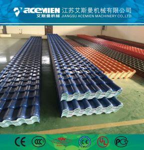 Tuile de recyclage de plastique de machines de formage