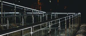 De Omheining van de Balustrade van het Glas van Frameless voor Balkon