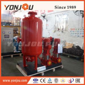 Bomba eléctrica de água com tanque de pressão