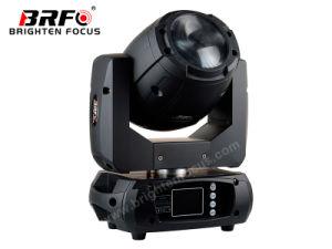 Mini 75W Haz Sharpy moviendo la cabeza de la etapa de iluminación LED