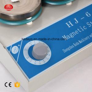 実験室の暖房の器械の磁気スターラーのHotplateの液体アジテータ