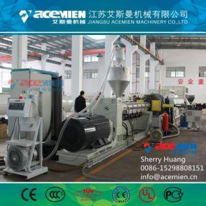 PE PP Tubo ondulado de doble pared de la línea de producción de la máquina de extrusión