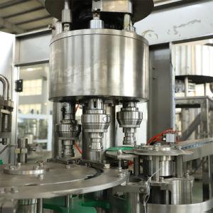 El jugo de frutas automático de la botella de PET de agua de llenado de líquido Embotellado de bebidas Máquina de embalaje Paquete