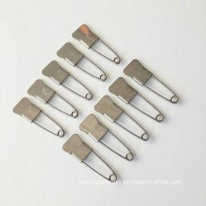 Schnelle verbrauchbare Fishtaile geformte Metallbefestigungsteil-Kleidungs-Sicherungsstifte für das nähende Stricken