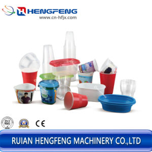 machine de thermoformage en ligne pour le PP Coupe de l'eau/Pet boisson froide tasse/PS tasse de café