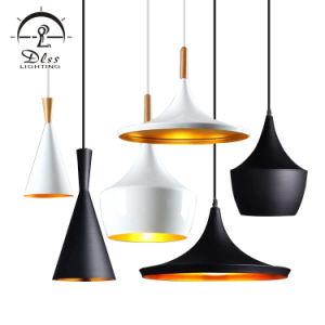 Engelse Witte Hoeden die de Lampen van de Tegenhanger van het Aluminium van de Winkels van de Koffie van Staven aansteken