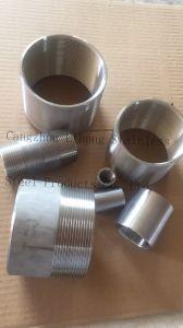 Accoppiamento O.D. dell'acciaio inossidabile BSPT lavorato dal tubo senza giunte