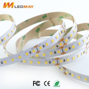 Indietro con illuminazione di striscia di Adhersive 2835 LED dei Doppio-Lati di 3M
