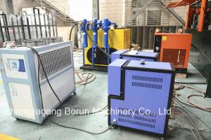 Elevada capacidade de máquina de sopro de garrafas de plástico de material PET