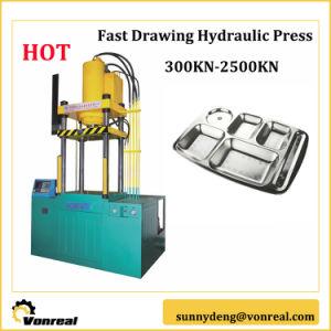 Четыре колонки гидравлический пресс для металлических чертеж