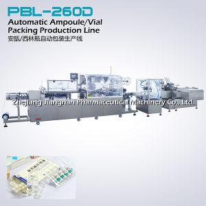 La medicina de la línea de producción automática de embalaje (PBL-260D) Maquinaria farmacéutica