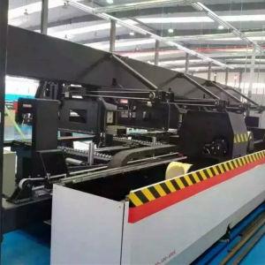 円形か正方形または平らな管の切断のための1000W管のファイバーレーザー機械