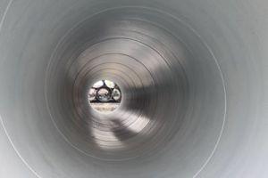Tubo d'acciaio anticorrosivo della saldatura ad arco sommersa