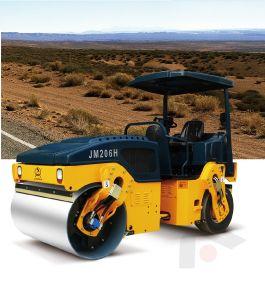 6 тонн Вибрационный дорожный дороги ролика строительного оборудования (JM206H)