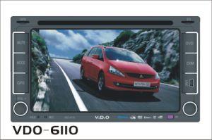 2 DIN 차 DVD 플레이어 (VDO-6110)