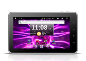 7  Tablet PC/MID met Rockchip 2918 cpu en Androïde 2.3 OS
