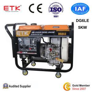 5kwはタイプ空気によって冷却されるディーゼル発電機セットを開く