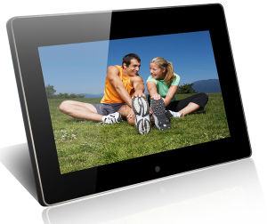 10 pouces Cadre photo numérique haute résolution
