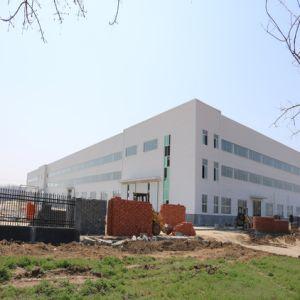 Magazzino prefabbricato della struttura d'acciaio di disegno della costruzione