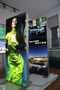 2020 Alunium Interior Exposições Modular exibir a caixa de Luz do Painel de login