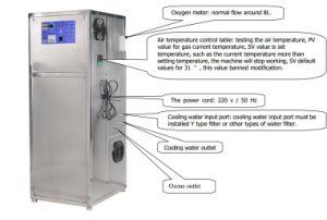 Gerador de ozônio integrado Piscina