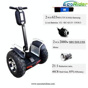 doppio LG motorino della rotella della batteria due di 1266wh con 4000W senza spazzola
