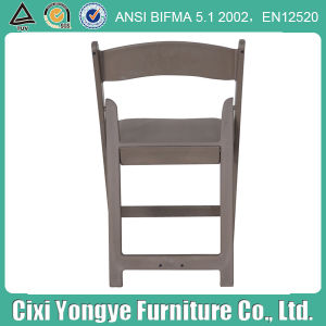 Weddings를 위한 회색 Padded Resin Folding Chair