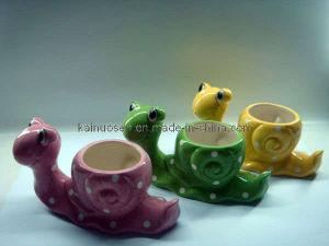 Adorável Animal pote de flores de cerâmica para decoração de jardim