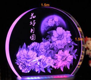 3D (machine à gravure laser HSGP Crystal-2KC)