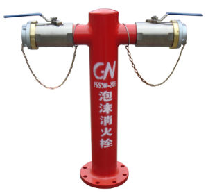 Poteau incendie avec une haute qualité pour l'équipement de lutte contre les incendies
