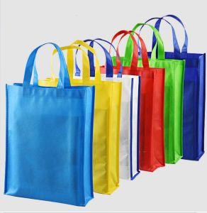 Promotie het Winkelen pp van de Totalisator van de Kruidenierswinkel van de Druk van de Douane van de Hoogste Kwaliteit Goedkope Gerecycleerde niet Geweven Zak