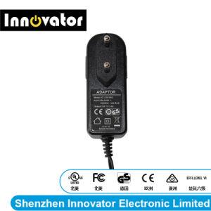 12V 1.5A Adaptador de alimentación de 18W con un tapón en el tipo de conmutación de audio y luces LED