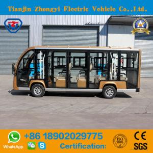 Novo design 14 lugares assinalados autocarro turístico com marcação CE e o certificado SGS