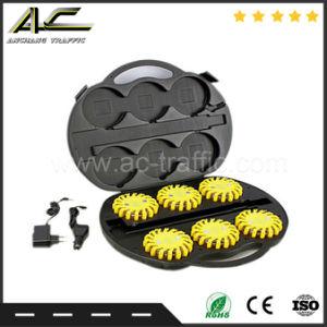 壁の充電器LEDライト火炎信号と再充電可能な最も新しい競争価格