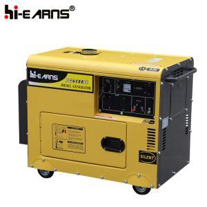 空気によって冷却されるディーゼル発電機セット(DG6500SE)
