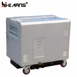 小さい騒音のディーゼル発電機(DG6500SE-N)