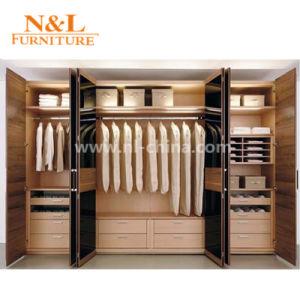Nouvelle Chambre à Coucher Mobilier De Style Moderne En Bois Garde