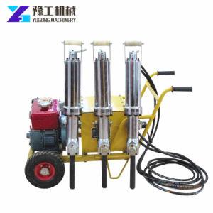De hydraulische Verdelende Machine van de Steen van de Breker van de Rots voor Steengroeve