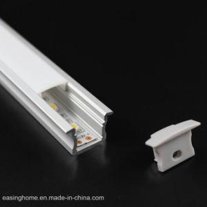 Alp003 más de 40 LED de los modos de aluminio anodizado de perfiles de iluminación LED con bridas de 15mm para la instalación empotrada iluminación lineal