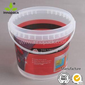 Grau Alimentício personalizado balde clara com pegas de plástico para venda