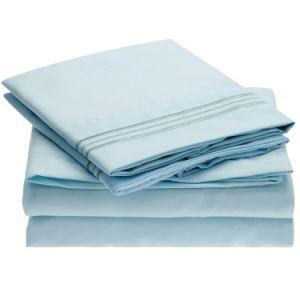 Hoja de base casera de la materia textil 4PCS Microfiber de la alta calidad