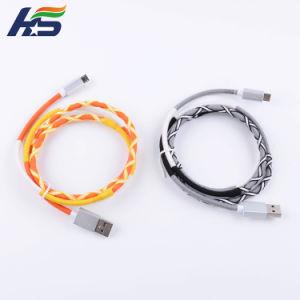 Экранирующая оплетка нейлоновые быстрой подзарядки фги мобильный кабель для iPhone и iPad
