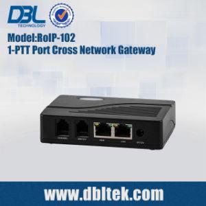 De alto rendimiento Cross-Network DBL Voive Gateway (RoIP-102)