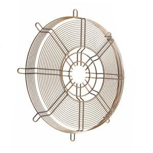 Ventilador eléctrico de acero inoxidable cubierta de malla ronda el protector del ventilador
