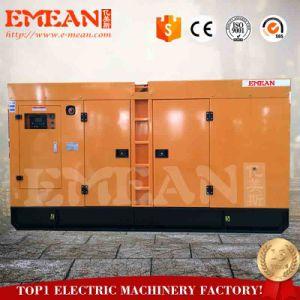 100kw générateur diesel refroidi par eau pour les terres utilisées