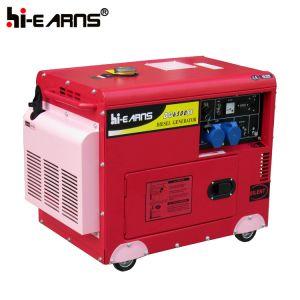 5kw de stille Reeks van de Generator van de Macht van de Dieselmotor (DG6500SE)