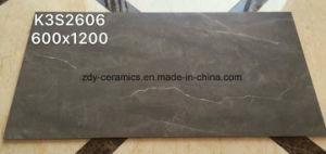 フォーシャンの建築材料の自然なタイル張りの床のタイル完全なボディ大理石の磁器の石のタイル