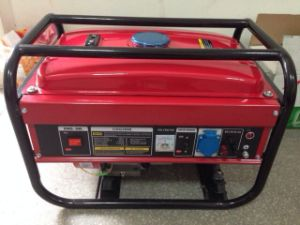 Pequeño grupo electrógeno de gasolina de 2,5 kVA - 7.5kVA