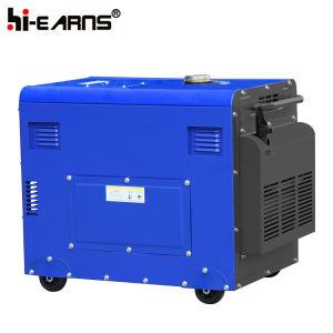 2- 5kw Air-Cooled Protable Groupe électrogène Diesel (DG6500SE)